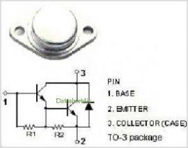Tranzisztor BDX65B (BDX-65B)
