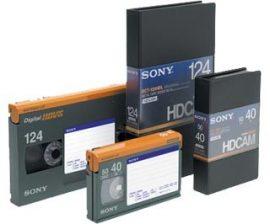 Sony BCT-124HDL HDCAM kazetta