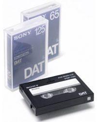 Sony PDP-125C (PDP125) DAT kazetta