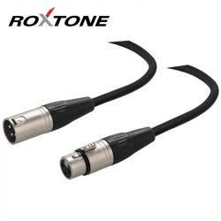 Roxtone XLR-XLR árnyékolt mikrofon kábel 3m