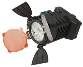 LED-5001 Video led lámpa + akku töltő