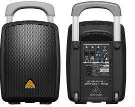Behringer MPA40BT PRO Europort hordozható mobil hangosító