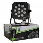 Involight SLIMPAR1210Pro RGBWA+UV LED lámpa