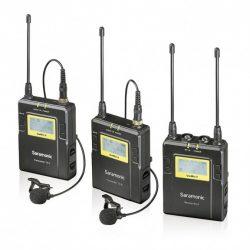 Saramonic UwMic9 Kit2 Dupla csíptetős kamera mikrofon szett