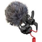 Rode VideoMicro mikrofon szélfogóval