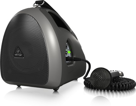 Behringer HPA40 akkus mobil hangosító