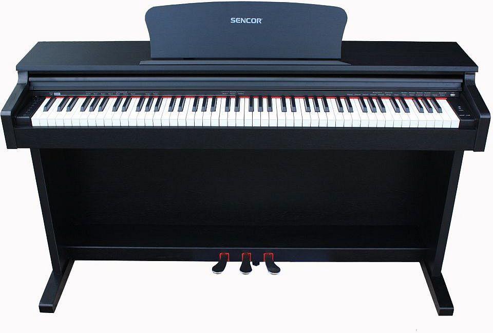 Sencor SDP-100 digitális zongora (3 színben)