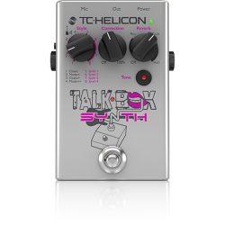 TC Helicon Talkbox Synth ének effekt