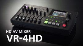 Roland VR-4HD Audio-Video HD keverő