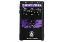 TC Helicon VoiceTone X1 megafon/torzító pedál