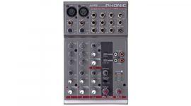 Phonic AM85 Keverőpult, 2 Monó/2 Sztereó csatorna