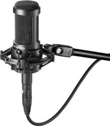 Audio Technica AT2035 stúdió mikrofon rezgésmentes tartóval