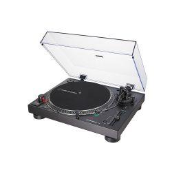 Audio Technica AT-LP120X (fekete) közvetlen meghajtású lemezjátszó (analóg és USB)