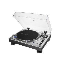 Audio Technica AT-LP140XP Közvetlen hajtású professzionális lemezjátszó (ezüst)