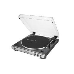 Audio Technica AT-LP60X USB bakelit lemezjátszó és digitalizáló (ezüst)