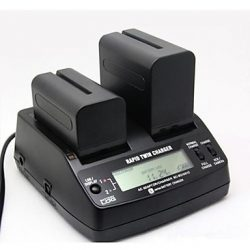 Sony NP-F sorozatú dual pro akkumulátor töltő (BC-BQ1051C)