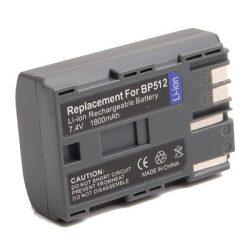 Canon BP-512 (1600mAh) utángyártott akku