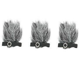 Boya BY-B05 szőrős szélfogó csíptetős mikrofonhoz 3db