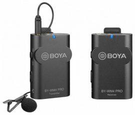 Boya BY-WM4 PRO-K1 2,4Ghz univerzális vezetéknélküli adó-vevő