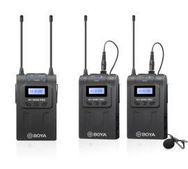 Boya BY-WM8 Pro-K2 Dupla csíptetős kamera mikrofon szett