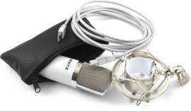 Lewitz C100usb kondenzátor mikrofon rezgésmentes tartóval