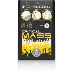TC Helicon Critical Mass ének effekt