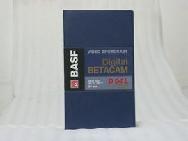 BASF D94L Digital Betacam kazetta