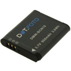 Panasonic DMW-BCN10 (950mAh) utángyártott akku