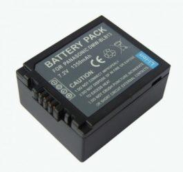 Panasonic DMW-BLB13 / DMW-BLB13E utángyártott akku