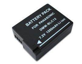 Panasonic DMW-BLC12 / DMW-BLC12E CHIP-es utángyártott akku