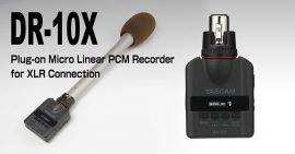 Tascam DR-10X Plug-on digitális rögzítő