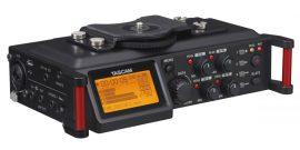 TASCAM DR-70D 4 csatornás rögzítő DSLR kamerákhoz