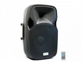 Thunder Audio DXA-15BT 400/800W (38 cm) aktív hangfal (MP3 + USB + Bluetooth + FM)