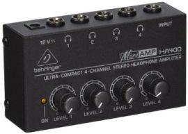 Behringer HA400 MICROAMP fejhallgató erősítő