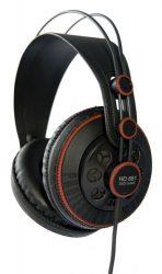 Superlux HD681 RD stúdió fejhallgató