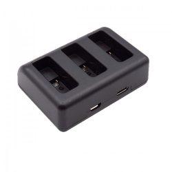 Hero-5 / Hero-6 tripla USB töltő