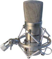 RH Sound HSMC001 stúdió kondenzátor mikrofon rezgésmentes tartóval