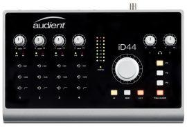 Audient iD44, 24bit/96kHz USB audió interfész, max. 20/24 IO