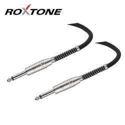 Roxtone 6,35mm Jack-6,35mm Jack szerelt jelkábel 1m