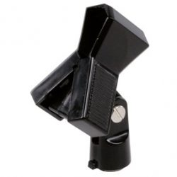 MIC-2 csiptetős mikrofon kengyel kézi mikrofonokhoz