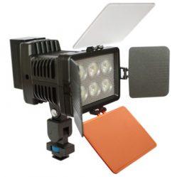 LED-5010A Video led lámpa + akku töltő