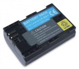 Canon LP-E6+ chip-es utángyártott akku