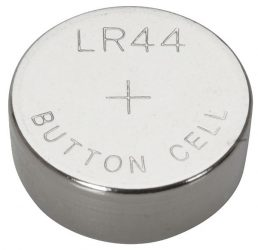 LR44 / AG13 alkaline gombelem