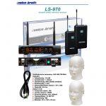Voice-Kraft LS-970 Testszínű fejmikrofonnal 2 db UHF zsebadós mikrofon szett