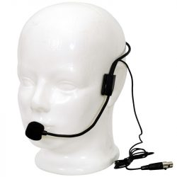Voice-Kraft LS-970 Fejmikrofon, fekete