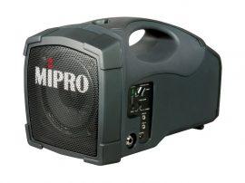 MiPro MA-101B akkus mobilhangosító URH mikrofon vevővel