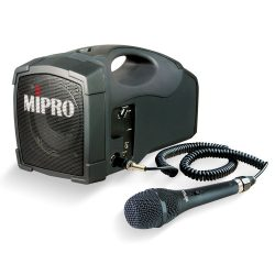 MiPro MA-101C akkus mobil hangosító kábeles mikrofonnal