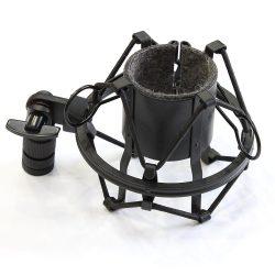 MIC-201 rezgésmentes tartó 30-50mm átmérőjű mikrofonokhoz