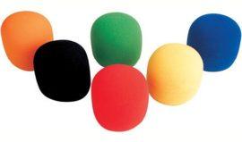 MIC-006 színes mikrofon szivacs készlet 6db-os
