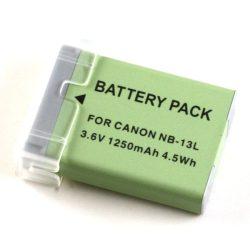Canon NB-13L (1250mAh) utángyártott akku